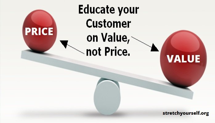 educate customer