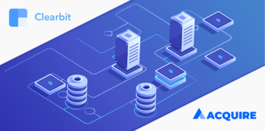 Acquire Integrates with Data Enrichment Platform Clearbit