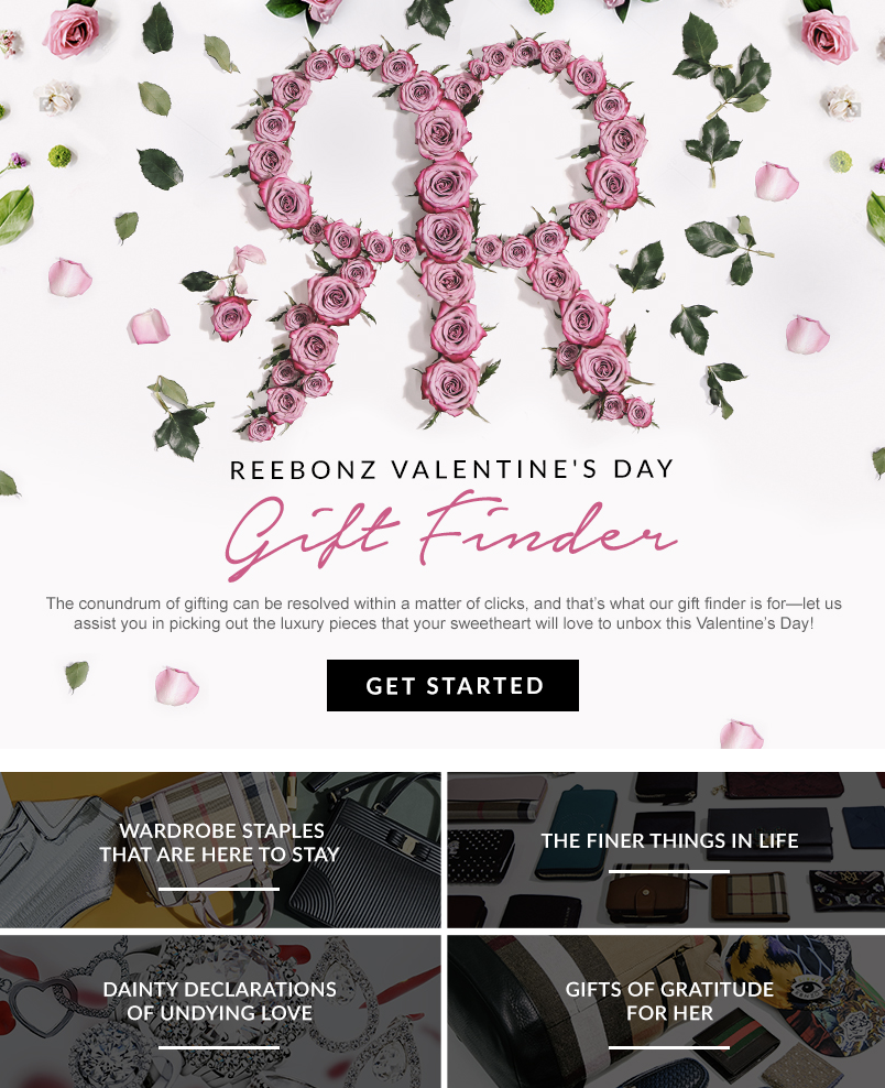Reebonz valentine's day gift finder