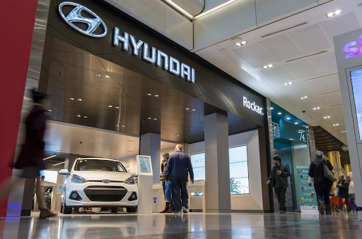 hyundai digital car showroom