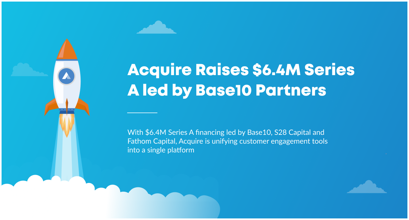 Acquire Raises $6.4M Series A led by Base10 Partners