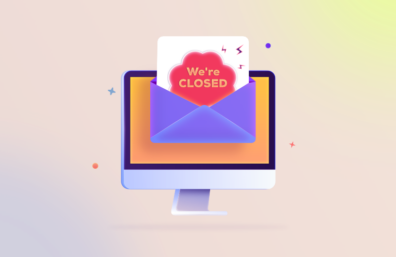 Office closed for holiday email template