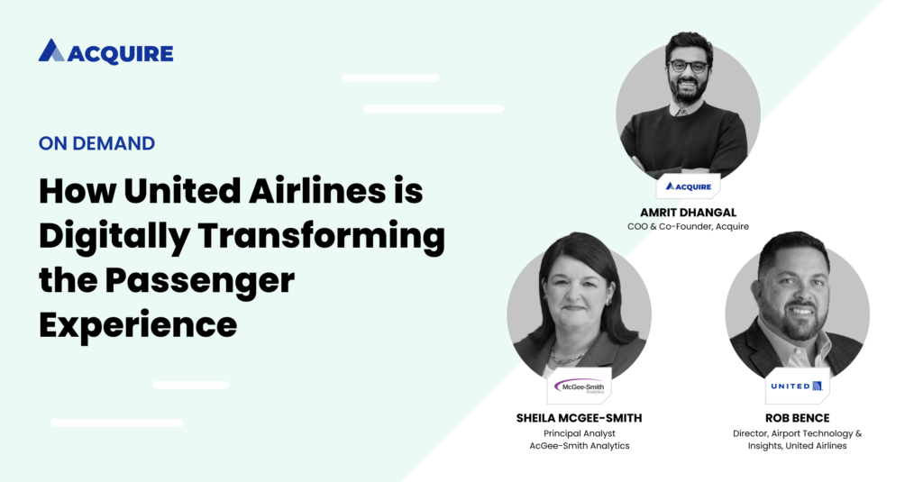 United Airlines digital transformation using Acquire technology