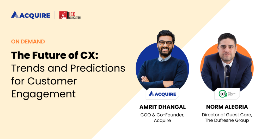 Future of CX Trends and Predictions with The Dufresne Group