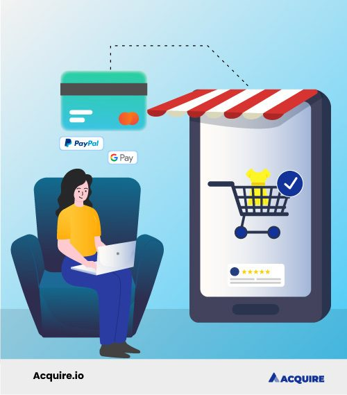 Easy two-step checkout process