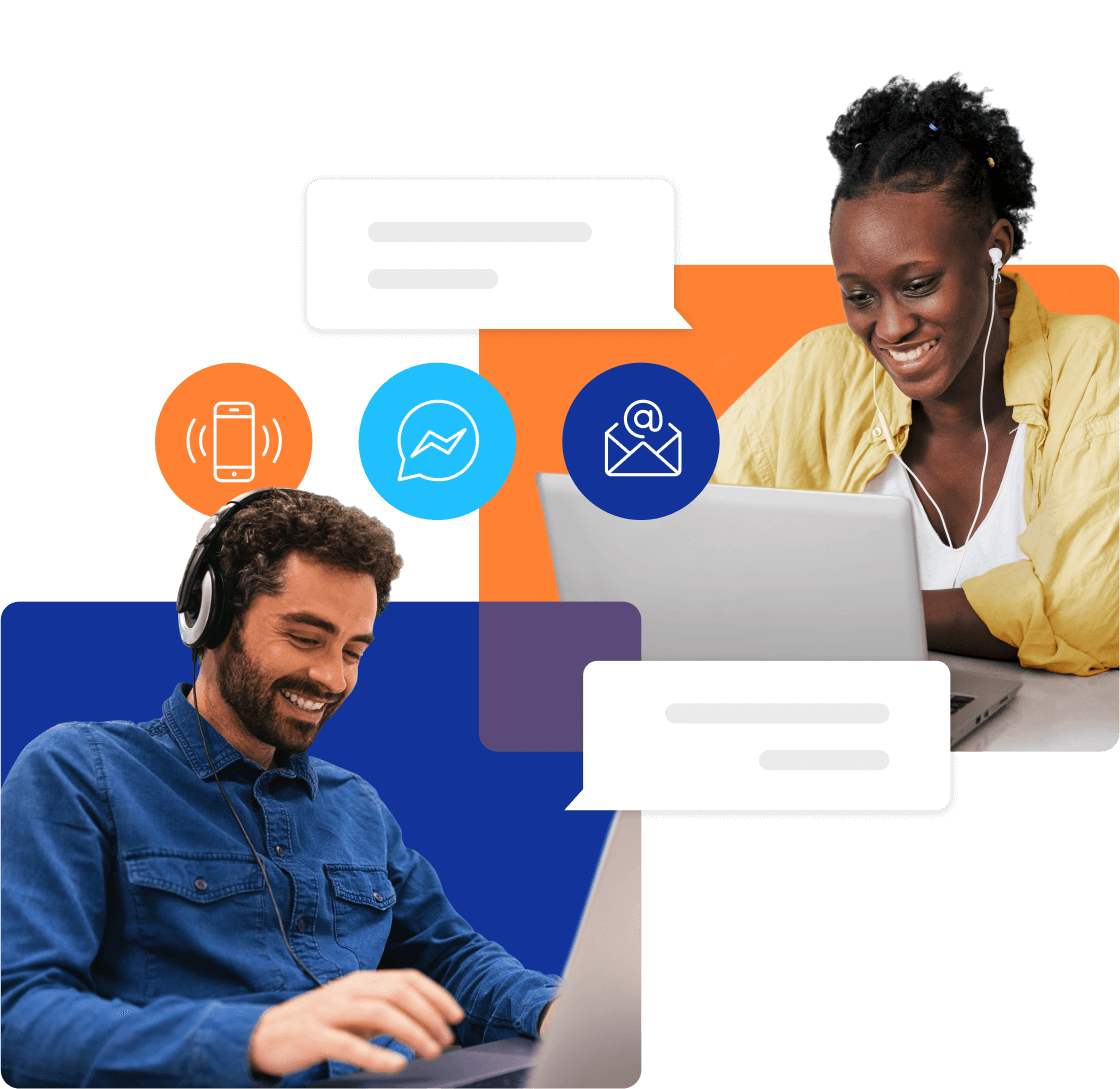 Acquire conversational customer experience