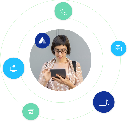 Seamlessly connect Acquire chatbot with other business chatbot softwares or apps
