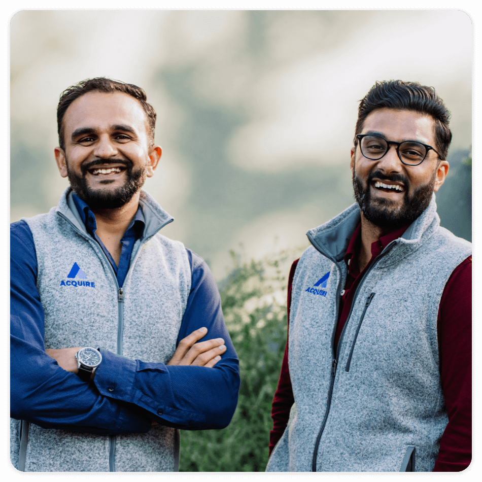 Founders of acquire