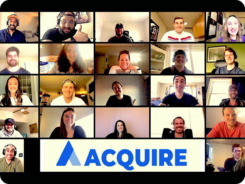 Life at acquire